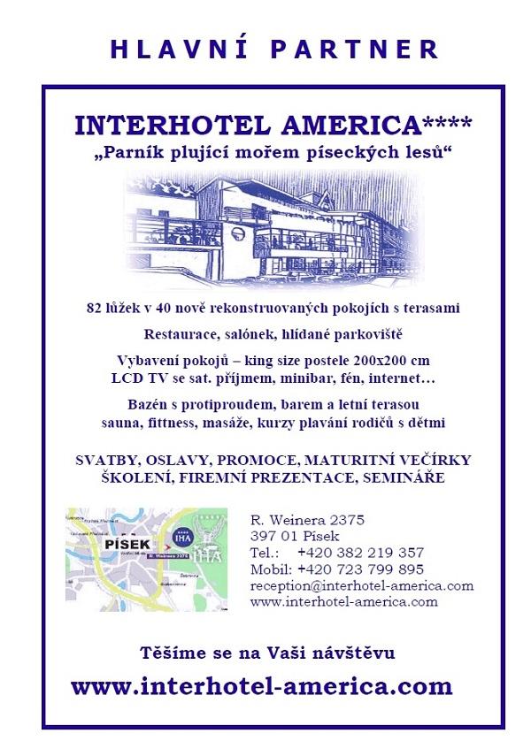 Leták hotel Amerika